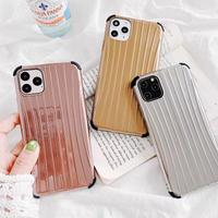 3 Colors Suitcase Metal iPhone case