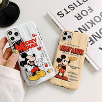 【Disney】White Creme Mickey iPhone case