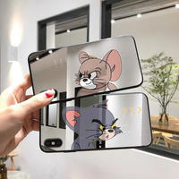!? Mouse Cat Mirror iPhone Case