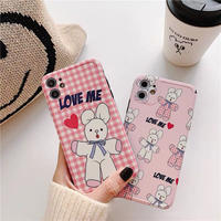 Love Me Pink Rabbit iPhone case