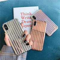 Laser Strip Mirror iPhone case