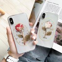 Rose Printing iPhone case