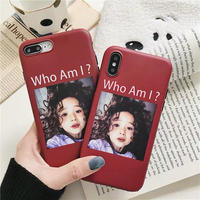 Who Am I ? iPhone case