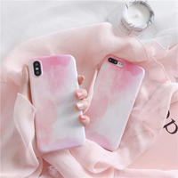 Pink Water Paint iPhone case