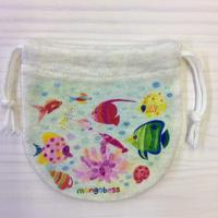 ミニ巾着☆熱帯魚