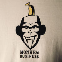 MONKE¥ BUSINE$$ T-SHIRT(ホワイト)