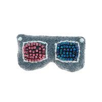 3-D Glasses Brooch