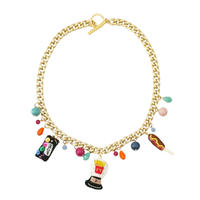 Junk Food Charm Necklace
