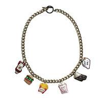 Glutton Charm  Necklace