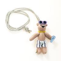 Teddy Bear Necklace-beach style-