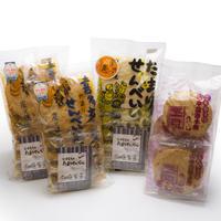 【喜多方市 山中煎餅本舗】たまりせんべい食べ比べセット