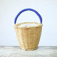 RECTANGLE&homspun / バケツバスケット・ブルー