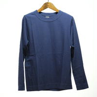 homspun / 天竺 長袖Tシャツ・ネイビー