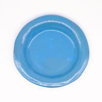 teto ceramic / リムプレート・中・モロッコブルー(実物写真81)
