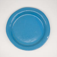 teto ceramic リムプレート・モロッコブルー大 (実物写真41)