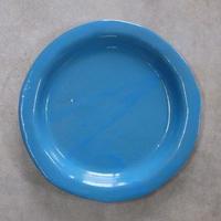 teto ceramic リムプレート・大・モロッコブルー