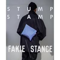 STUMP STAMP × FAKIE STANCE STRIPE PASS POUCH (TYPE-C)