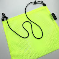 STUMP STAMP Pass Pouch (Mesh Neon Yellow)