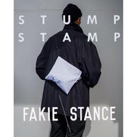 STUMP STAMP × FAKIE STANCE STRIPE PASS POUCH (TYPE-A)