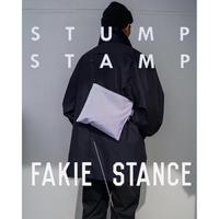 STUMP STAMP × FAKIE STANCE STRIPE PASS POUCH (TYPE-B)