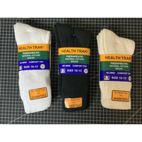 RAILROAD SOCK HELTH TRAK THERAPEUTIC SOCKS (2pack)