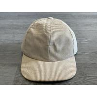 STUMP STAMP CORDUROY  CAP (BEIGE)