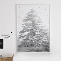 poster B2 ★ hello winter