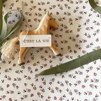 【ゆうパック】50枚 ★ wrapping paper A3  la pommeraie