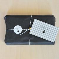 Joyeux noël★sticker&messagecard (gris)