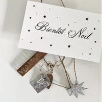 N-40 messagecard ★ Bientôt Noel 25枚