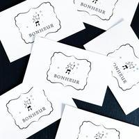 M-78 messagecard ★ BONHEUR  monsieur souris  25枚