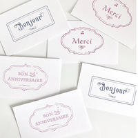 M-114 messagecard ★ message Français 30枚