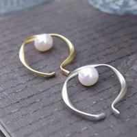Inner pearl hoop cuff-10mm