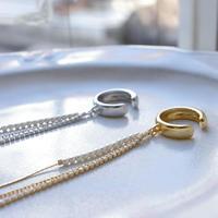 pearl chain cuff
