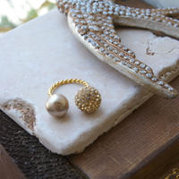 pave12 & pearl10  ring