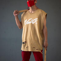 Disappear sleeve Tee  by 898