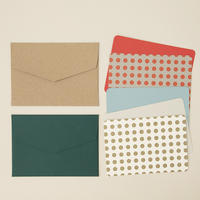 DRESSENSE|【紙博限定・DEADSTOCK】ベルギー製活版印刷カード&封筒set ドット
