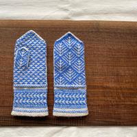 a.mo knit|まつかさミトン【受注商品:2月中発送】