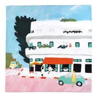 "Natsuki CAMINO インテリアクロス ""Paper Trip""/pavement cafe"