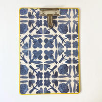 &PAPERS CLIP BOARD freurs bleues
