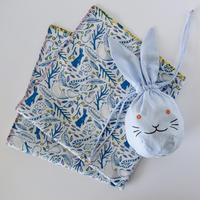 【6月号掲載分】相原暦 ウサギセット(ブルー)
