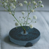 sun'oco glass 曽田伸子 [青]filler vase No.2
