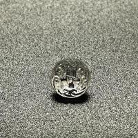 CO- | 【デッドストック】 クリアガラスボタン10個セット4