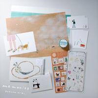 田村美紀|【月刊手紙舎7月号限定】アソートセット「memories」