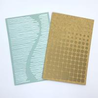 西荻ペーパートライ|The Snowback Press | CutItOut!Cards ポストカードセットF(2枚組)