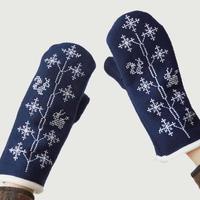 Canako Inoue|「雪の木」 snow tree / Mittens【受注商品:2月中発送】
