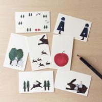 ネクタイ|「ふたごの森」カードセット増柄増量版