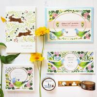 【7月号掲載分】表現社 cozyca products 【21春の新作】浅野みどり「botanical season」セット