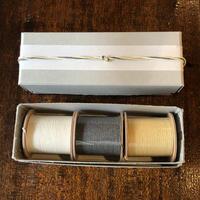 エモジ|結紙 白・濃紺・薄茶