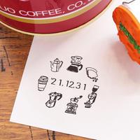 36 Sublo (サブロ)|日付回転印 36mm コーヒーグッズ
